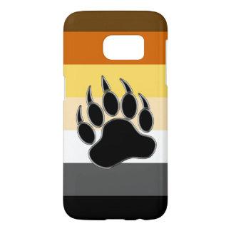Gay Bear Pride Flag Bear Paw Samsung Galaxy S7 Case