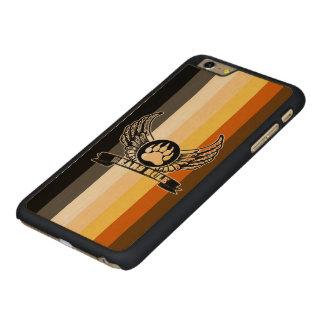 Gay Bear Pride Flag Bears Rule Wing Bear Paw Carved® Maple iPhone 6 Plus Case