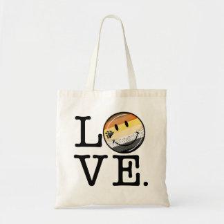 Gay Bear Pride Flag Love Tote Bag