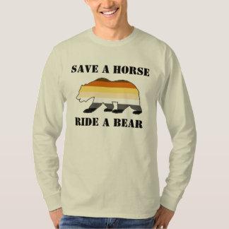 Gay Bear Pride Save A Horse Ride A Bear Tees