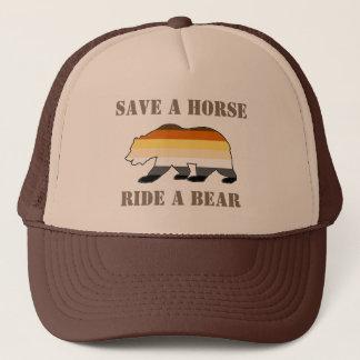 Gay Bear Pride Save A Horse Ride A Bear Trucker Hat