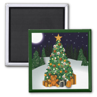 Gay Bears Christmas Tree Magnet