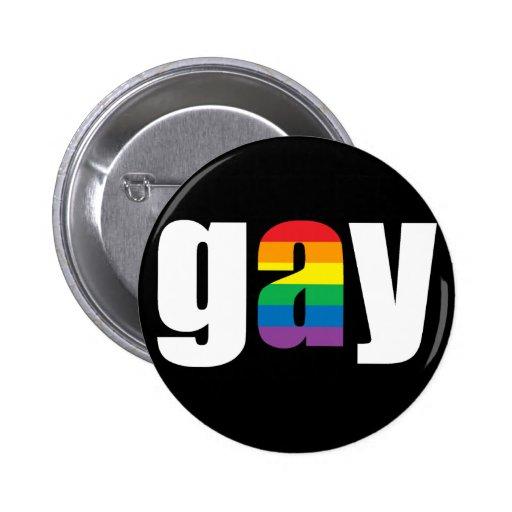 Gay Black Button