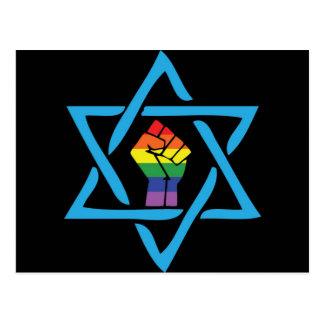Gay Black Jewish Postcard