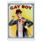 Gay Boy Cigars Card