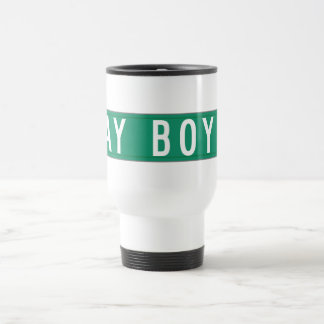 Gay Boy Court, Street Sign, New Jersey, US Travel Mug