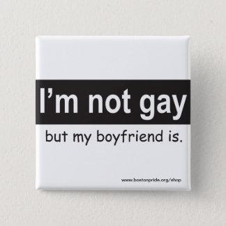 Gay Boyfriend Square Button