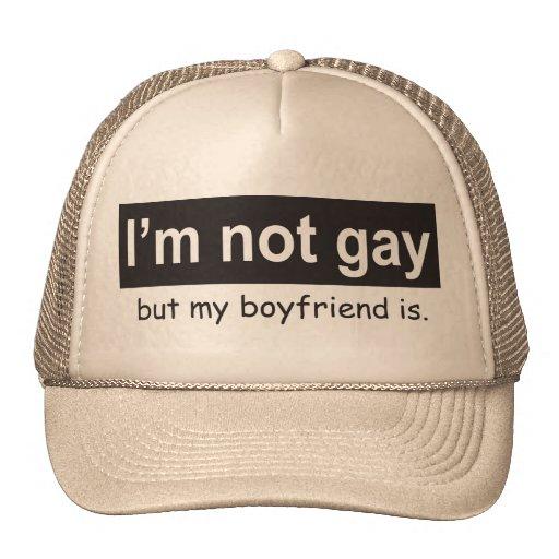 Gay Boyfriend Trucker Trucker Hat