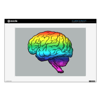 GAY BRAIN -.png Decal For Laptop