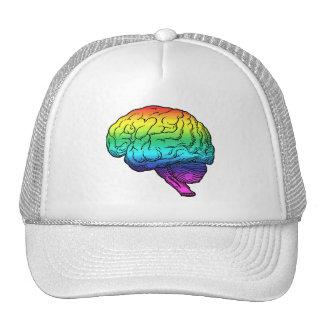 GAY BRAIN -.png Trucker Hat