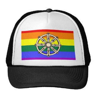 Gay Buddhist Pride Trucker Hat