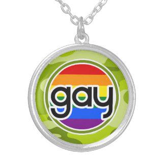 Gay; camo verde claro, camuflaje collares