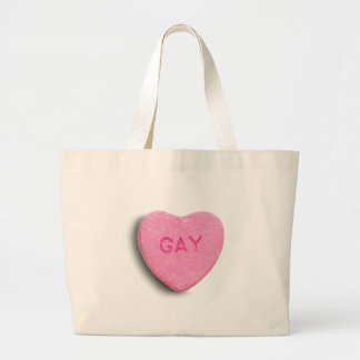GAY CANDY HEART BAG