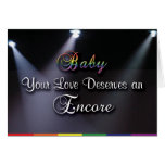 Gay Cards - Love's Encore