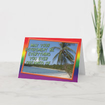 $3.10 - Gay Cards - Retirement Dream. by OneLoveFamily. see on 2 styles