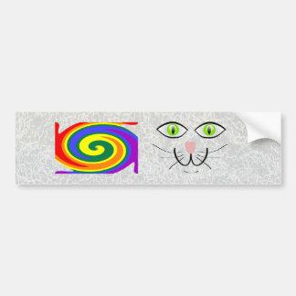 Gay Cat Bumper Sticker
