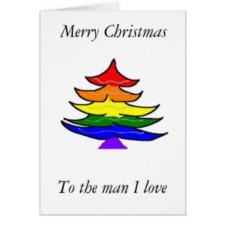 Gay Christmas card