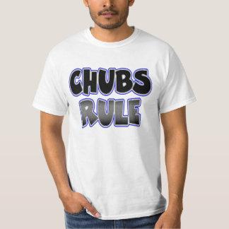 Gay Chubby Chaser Chubs Rule T-Shirt