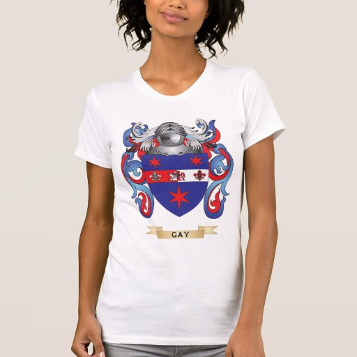 Gay Coat of Arms (Family Crest) T Shirt