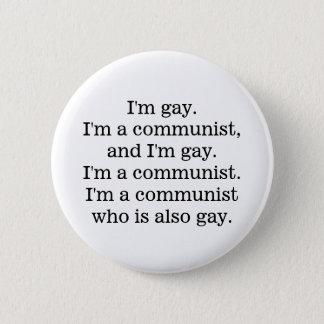 gay communist button