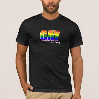 Gay como F ** camiseta de K American Apparel