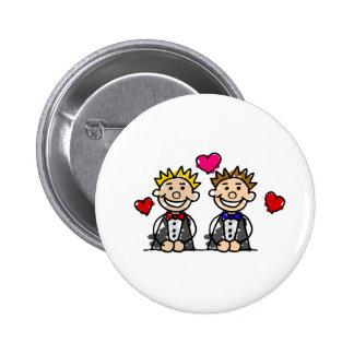 Gay Couple Button