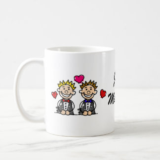 Gay Couple Coffee Mug
