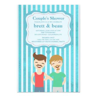 Gay Couple Shower Invitation