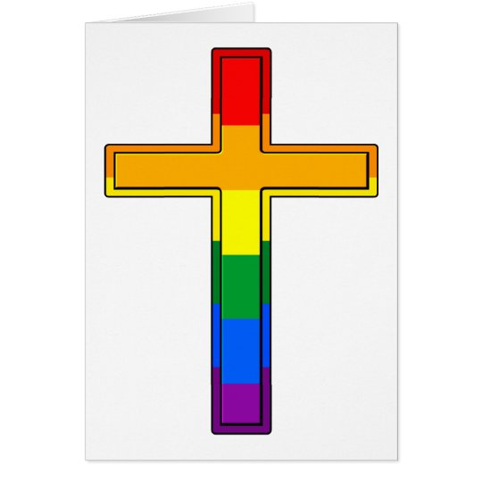 Gay Cross Card