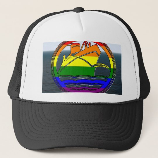 Gay Cruise 1 Trucker Hat