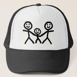 Gay Dads Adopt Trucker Hat