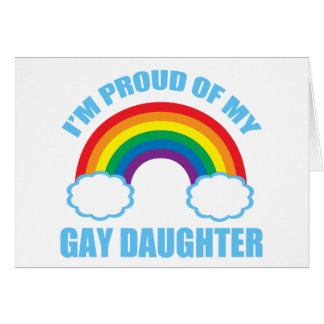 Gay Daughter Card