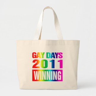 Gay Day 2011 Large Tote Bag