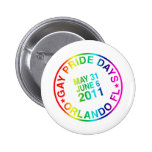 Gay Days 2011 Buttons