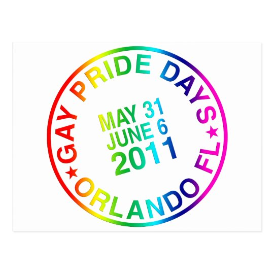 Gay Days 2011 Postcard