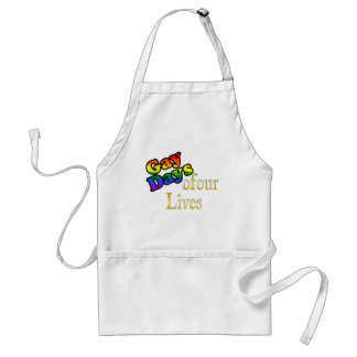 Gay Days Of Our Lives Adult Apron