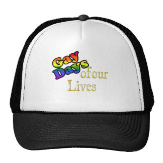 Gay Days Of Our Lives Mesh Hats