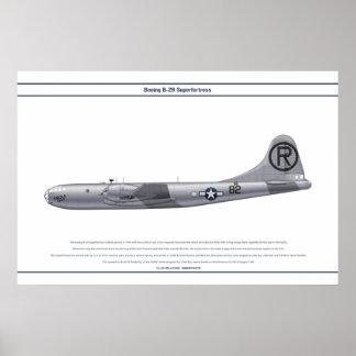 Gay de B-29 los E.E.U.U. Enola Póster