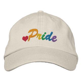 Gay del orgullo del arco iris temático gorra de béisbol