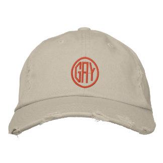 GAY EMBROIDERED BASEBALL CAP