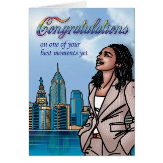 Gay - enhorabuena tarjeta de felicitación