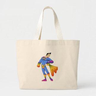 Gay estupendo bolsa tela grande