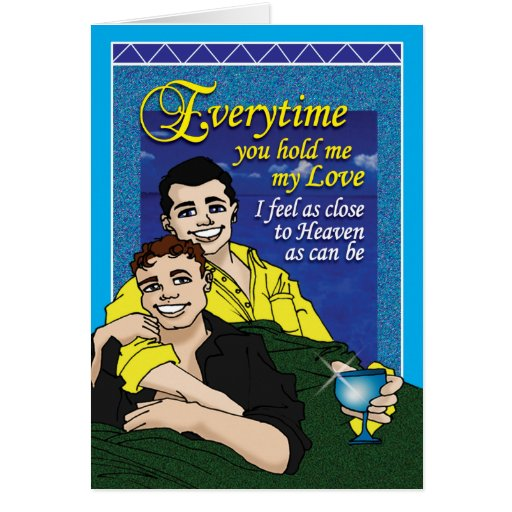 Gay - Everytime Greeting Card