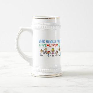 Gay Families Beer Stein