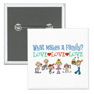 Gay Families Button