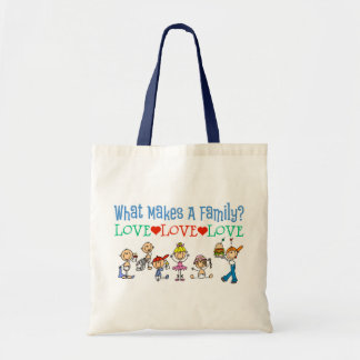 Gay Families Canvas Bags