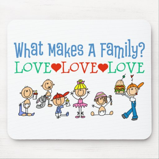Gay Families Mouse Pad