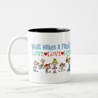 Gay Families Two-Tone Coffee Mug
