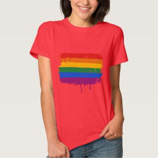 GAY FLAG DRIPPING T-Shirt