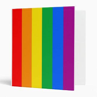 GAY FLAG ORIGINAL -.png 3 Ring Binders